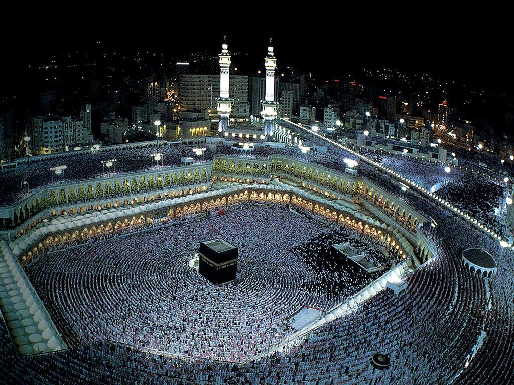 La sainte mosquée de la mecque