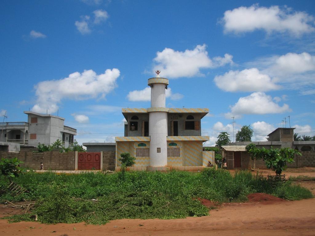 Benin Mosque in Porto Novo jpg