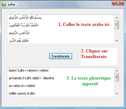 traduction arabe